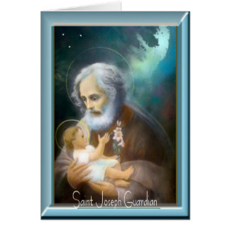 Saint Joseph Feast Day Card