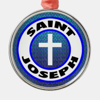 Saint Joseph Metal Ornament