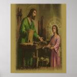 Saint Joseph print Poster
