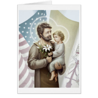 Saint Joseph the Protector Card