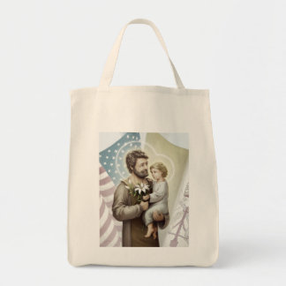 Saint Joseph the Protector Tote Bag
