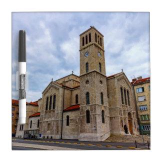 Saint Joseph's Church in Sarajevo. Bosnia and Herz Dry Erase Board