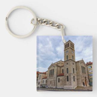 Saint Joseph's Church in Sarajevo. Bosnia and Herz Keychain