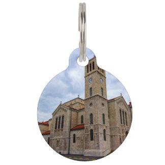 Saint Joseph's Church in Sarajevo. Bosnia and Herz Pet Name Tag