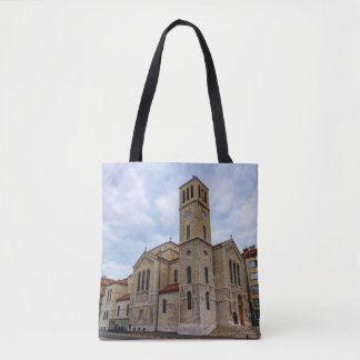 Saint Joseph's Church in Sarajevo. Bosnia and Herz Tote Bag