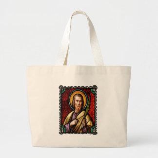 SAINT JUDE CATHOLIC 18 CUSTOMIZABLE PRODUCTS JUMBO TOTE BAG