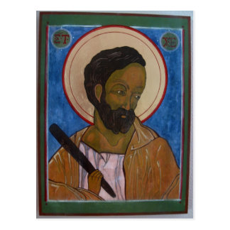 Saint Jude Icon Postcard