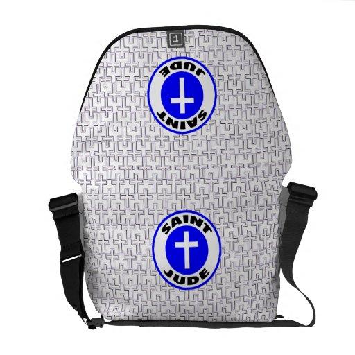 Saint Jude Courier Bag