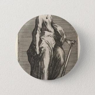 Saint Jude (or Saint Matthias) 2 Inch Round Button