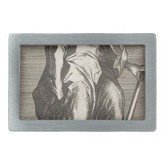 Saint Jude (or Saint Matthias) Belt Buckles