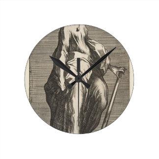 Saint Jude (or Saint Matthias) Round Clock