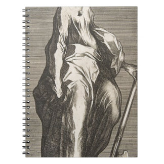 Saint Jude (or Saint Matthias) Spiral Notebook