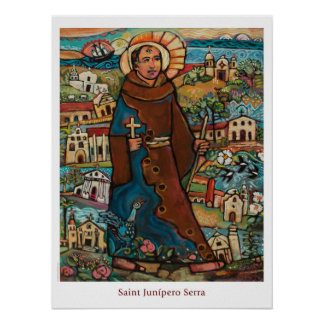 Saint Junipero Serra classroom poster