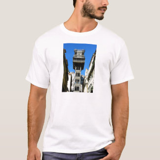 Saint Justa Lift, Lisbon, Portugal T-Shirt