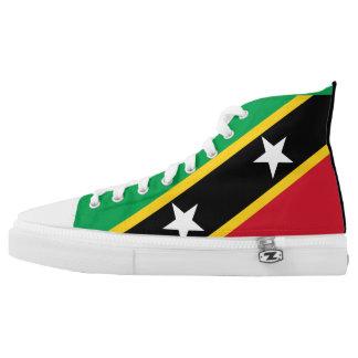 Saint Kitts and Nevis Flag High Tops