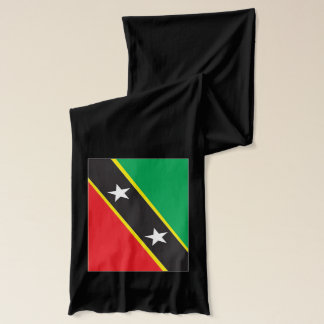 Saint Kitts and Nevis Flag Lightweight Scarf