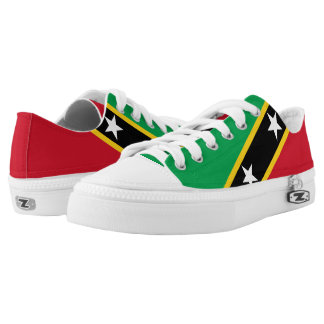 Saint Kitts and Nevis Low-Top Sneakers