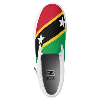 Saint-Kitts Flag st-kitts Slip-On Sneakers