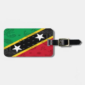 Saint Kitts & Nevis Luggage Tag