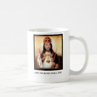 SAINT LANZA ...AND THE BLIND SHALL SEE Mug