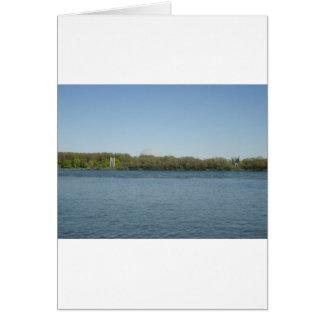 Saint Laurent River #2, Montreal Greeting Card