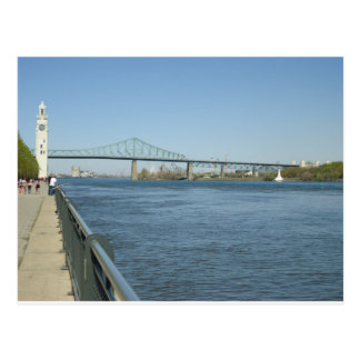 Saint Laurent River, Montreal Postcard