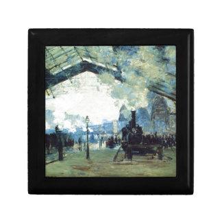 Saint-Lazare Gare, Normandy Train by Claude Monet Gift Boxes