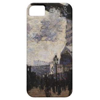 Saint-Lazare Station, Exterior View by Claude Mone iPhone 5 Case