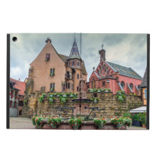 Saint-Leon fountain in Eguisheim, Alsace, France Case For iPad Air