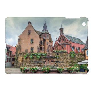Saint-Leon fountain in Eguisheim, Alsace, France Cover For The iPad Mini