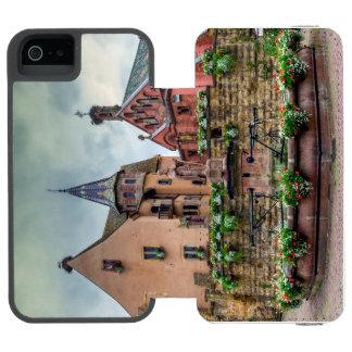 Saint-Leon fountain in Eguisheim, Alsace, France Incipio Watson™ iPhone 5 Wallet Case