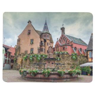 Saint-Leon fountain in Eguisheim, Alsace, France Journal