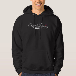 Saint Louis Heart Logo Hoodie