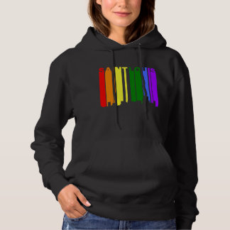 Saint Louis Missouri Gay Pride Rainbow Skyline Hoodie