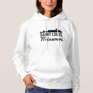 Saint Louis Missouri Skyline Hoodie