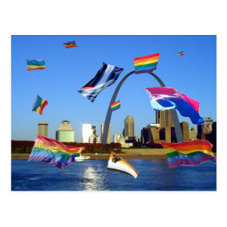 Saint Louis Pride Postcard