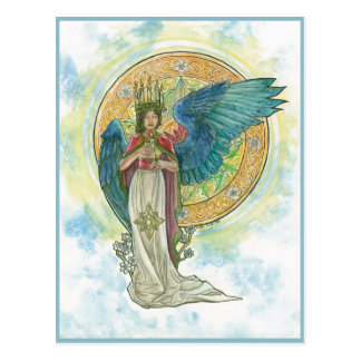 Saint Lucia Angel Post Card