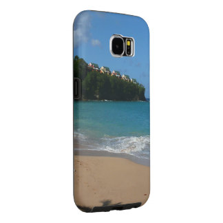 Saint Lucia Beach Tropical Vacation Landscape Samsung Galaxy S6 Cases