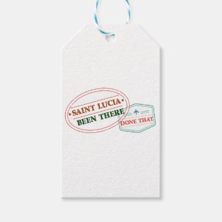 Saint Lucia Been There Done That Pack Of Gift Tags