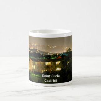 Saint Lucia Castries Coffee Mug