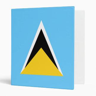 Saint Lucia Flag Binder
