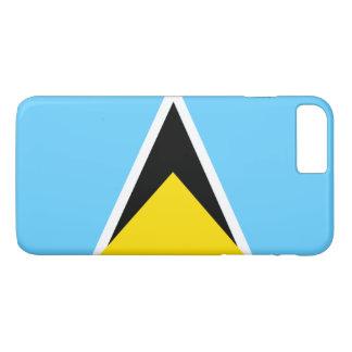 Saint Lucia flag Case-Mate iPhone Case