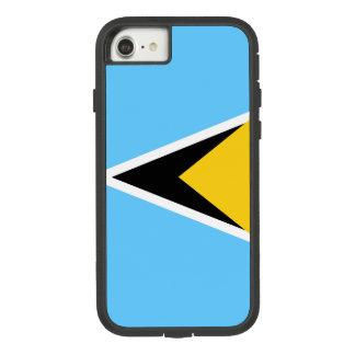 Saint Lucia Flag Case-Mate Tough Extreme iPhone 8/7 Case