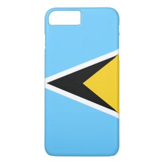 Saint Lucia Flag iPhone 8 Plus/7 Plus Case