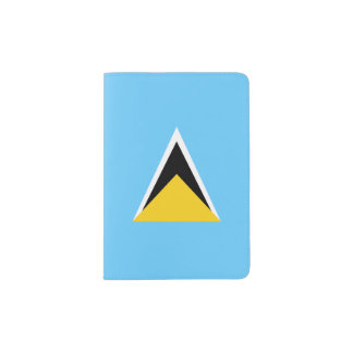 Saint Lucia Flag Passport Holder
