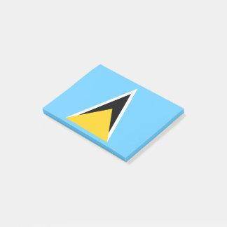 Saint Lucia Flag Post-it Notes