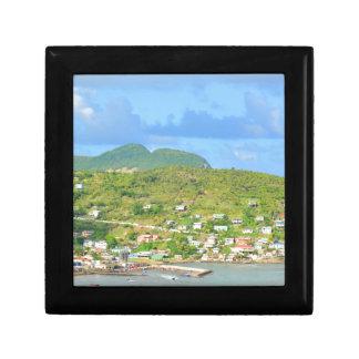 Saint Lucia Keepsake Boxes
