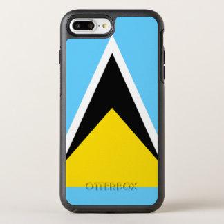 Saint Lucia OtterBox Symmetry iPhone 8 Plus/7 Plus Case