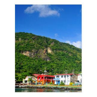 Saint Lucia Postcard