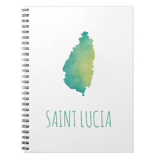 Saint Lucia Spiral Notebook